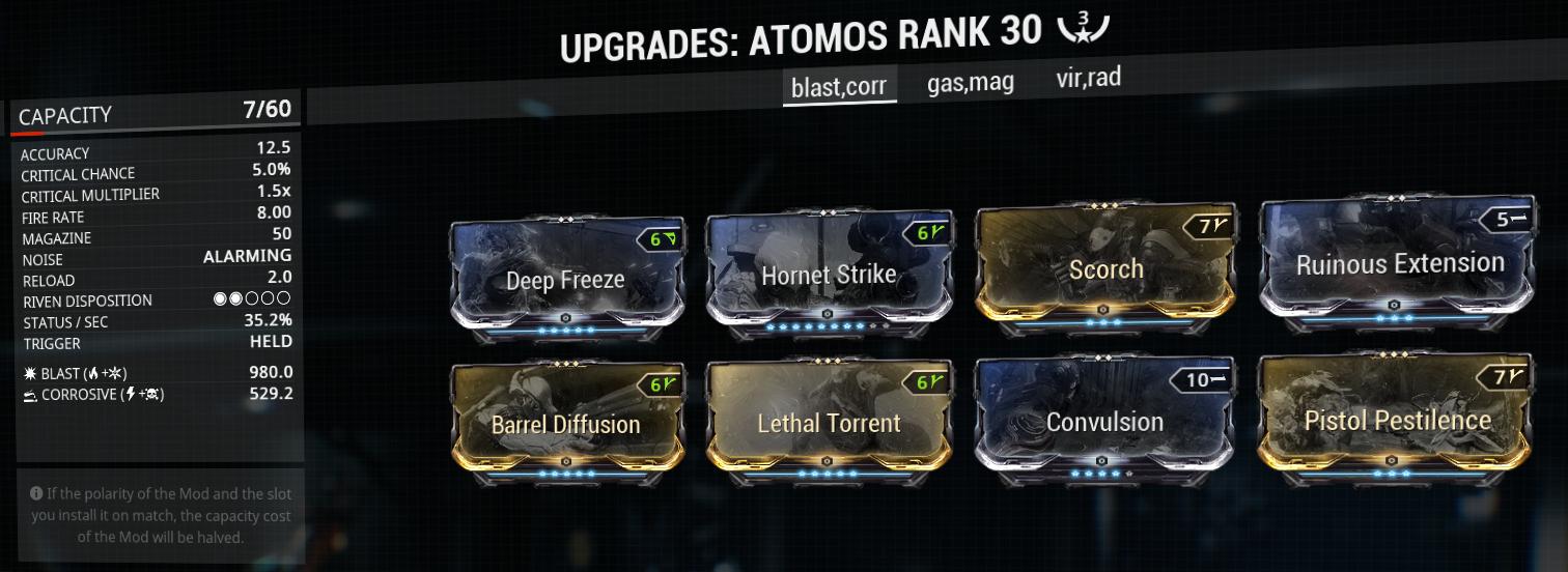 Atomos build and mod-setup