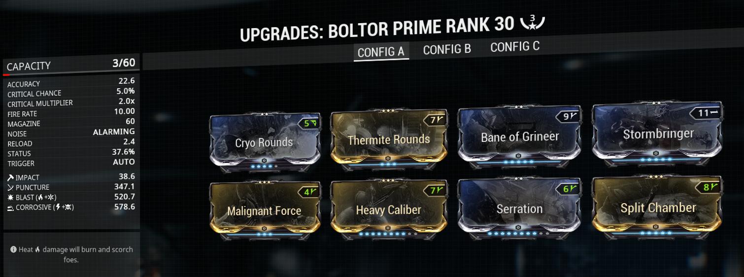 Boltor prime build mod-setup