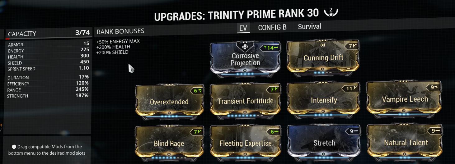 My EV Trinity build
