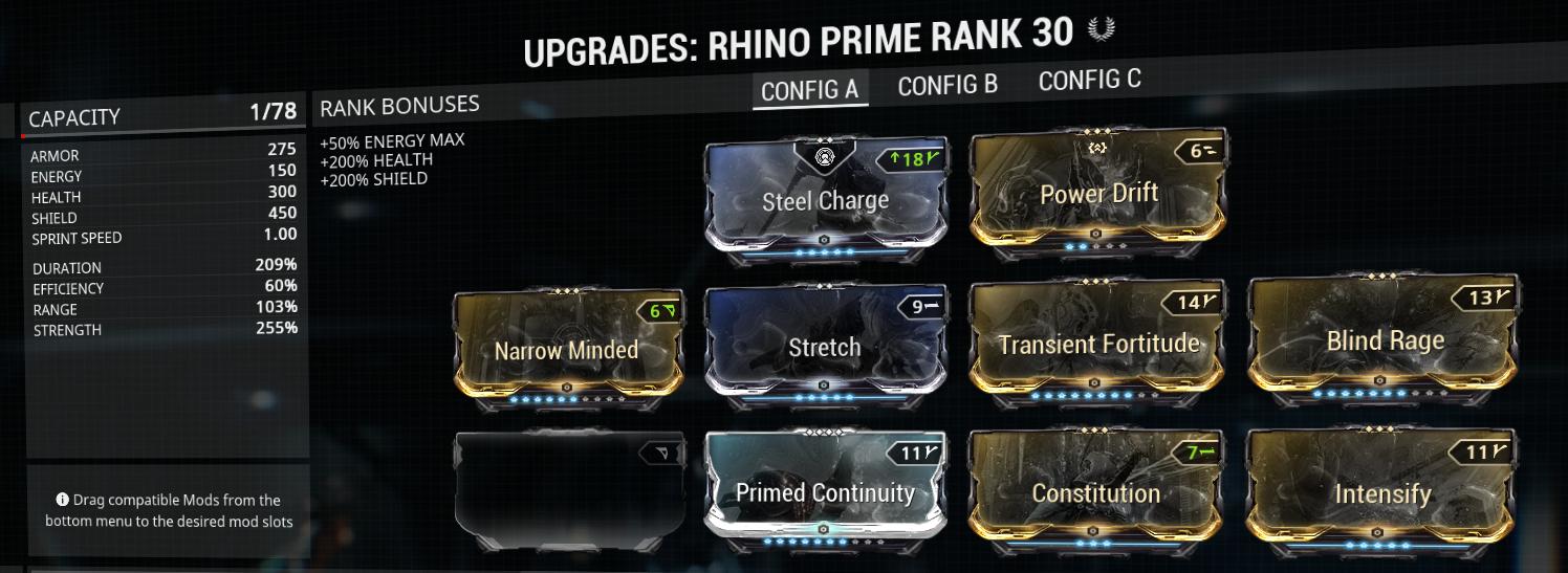 Rhino buffer build example