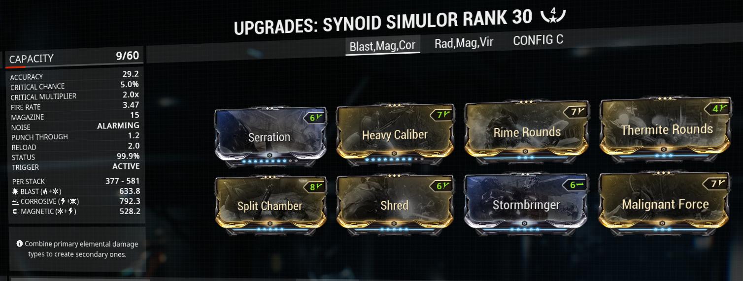 Synoid simulor build and mod-setup