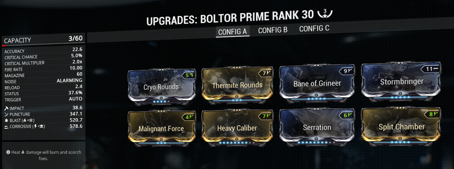 Boltor prime build mod-setup