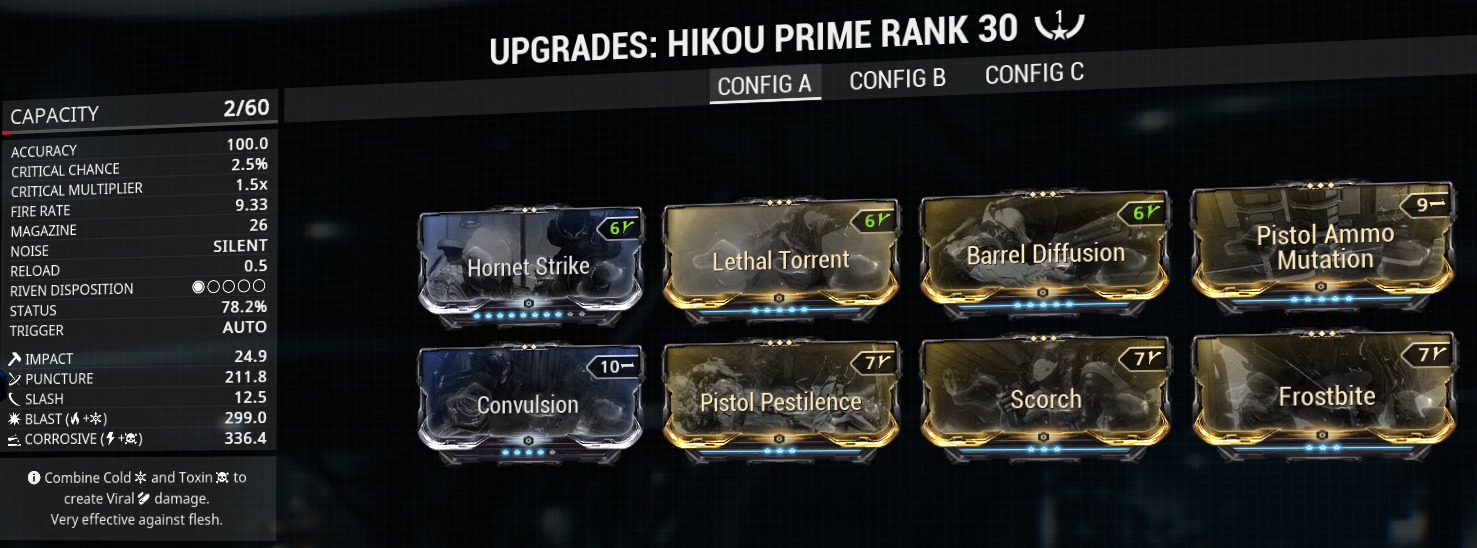 Hikou Prime build and mod-setup