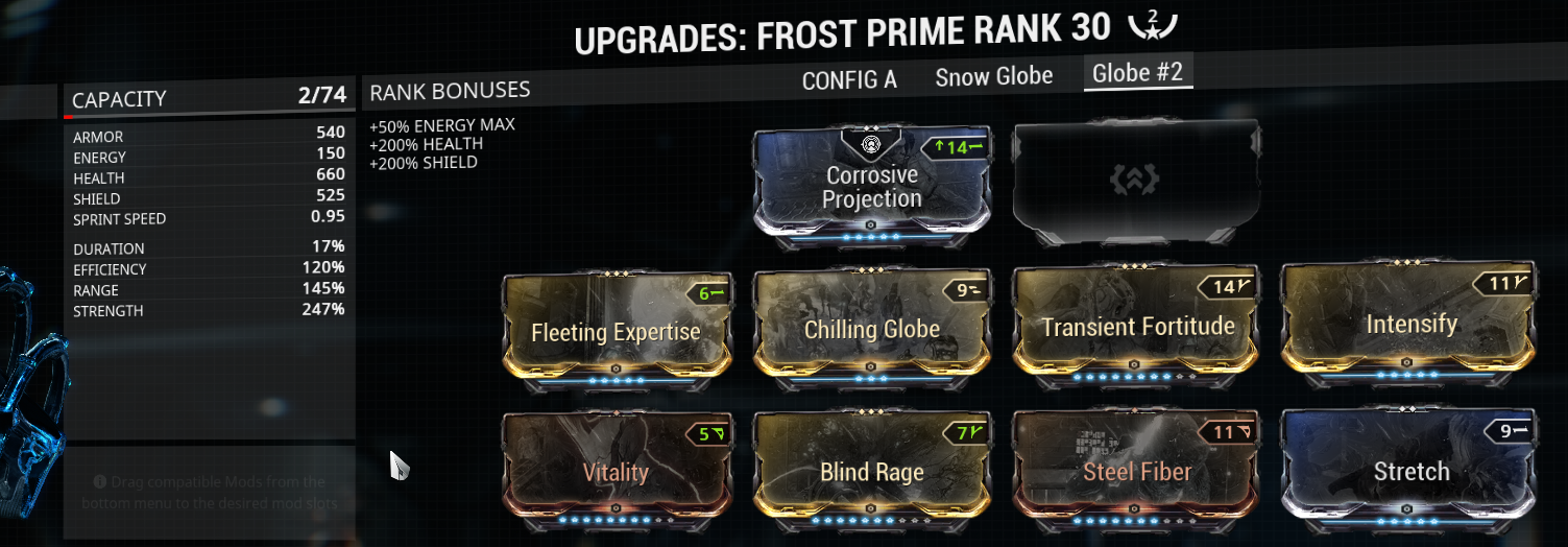 My optimal Frost Globe buld
