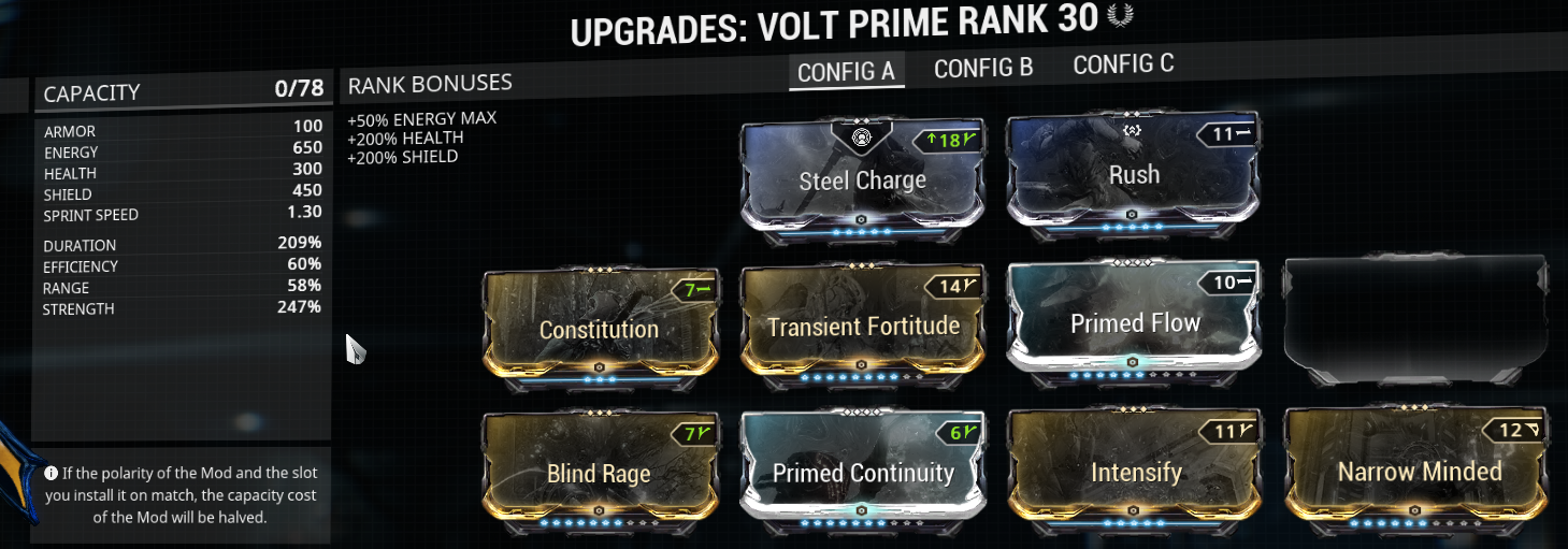 Speed build for Volt