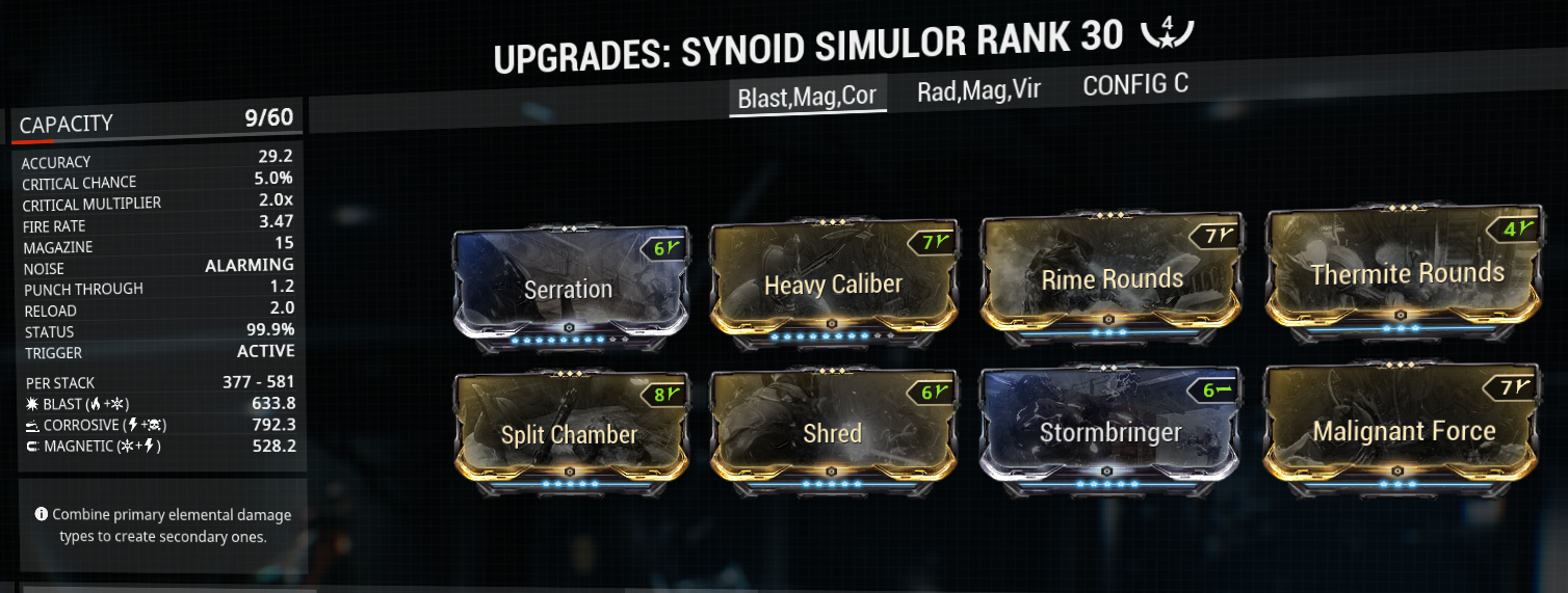 Synoid simulor build and mod-setup