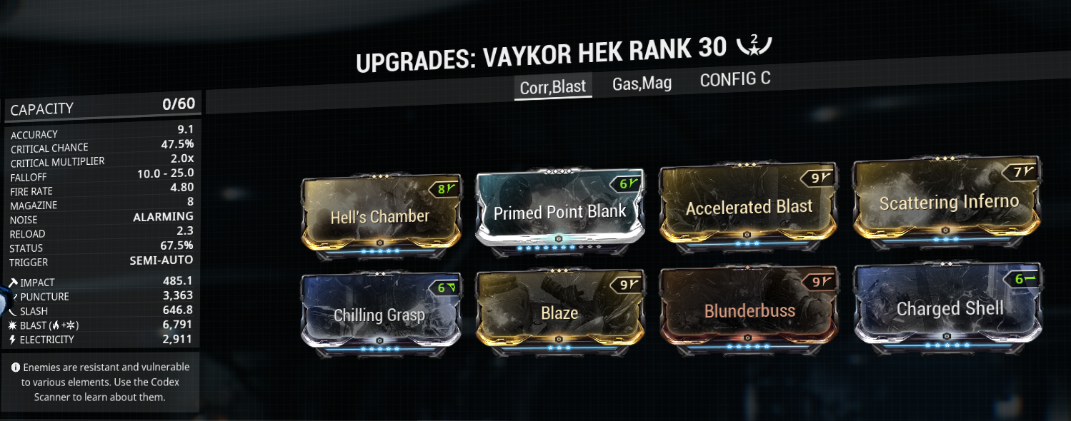 Vaykor Hek build example